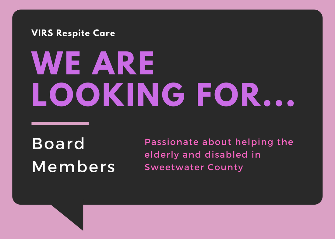 Board Member recruitment flyer